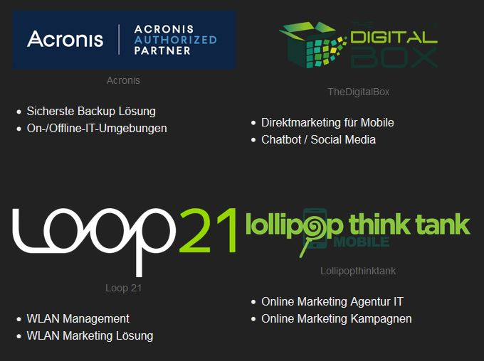 Partner der Internet-Marketing-Werkstatt.ch GmbH