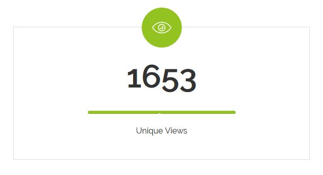 Von 3000 Empfängern haben 1653 die virtuelle Broschüre betrachtet